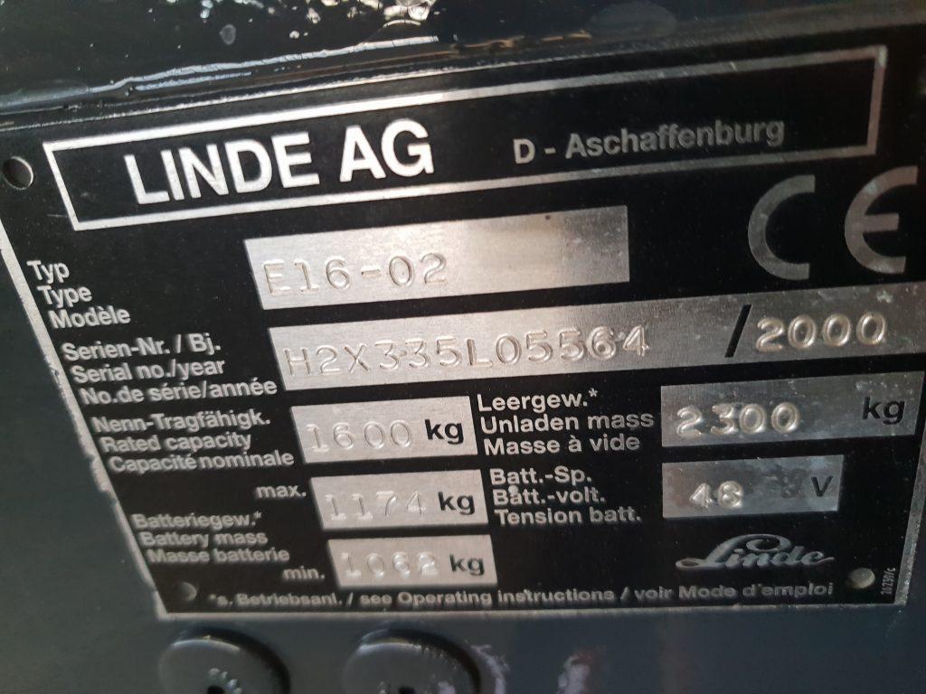 LINDE E16 2000-97