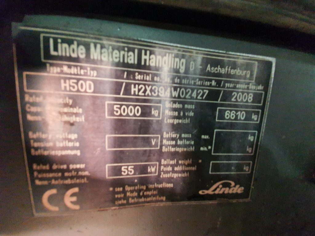 LINDE H50D TRIPLEX