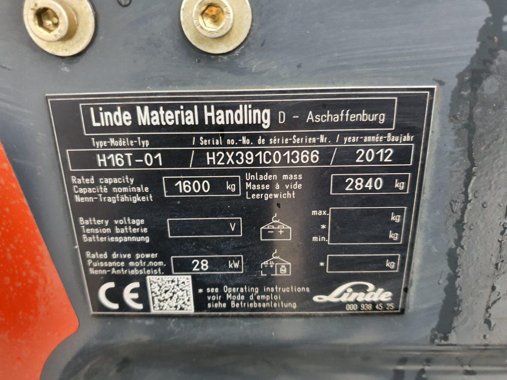 LINDE H16T – 226