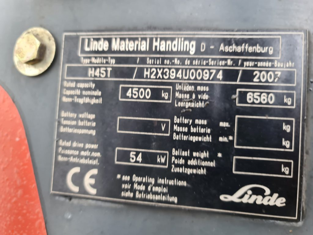 LINDE H45T – 281