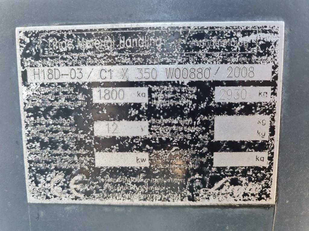 LINDE H18D – 308