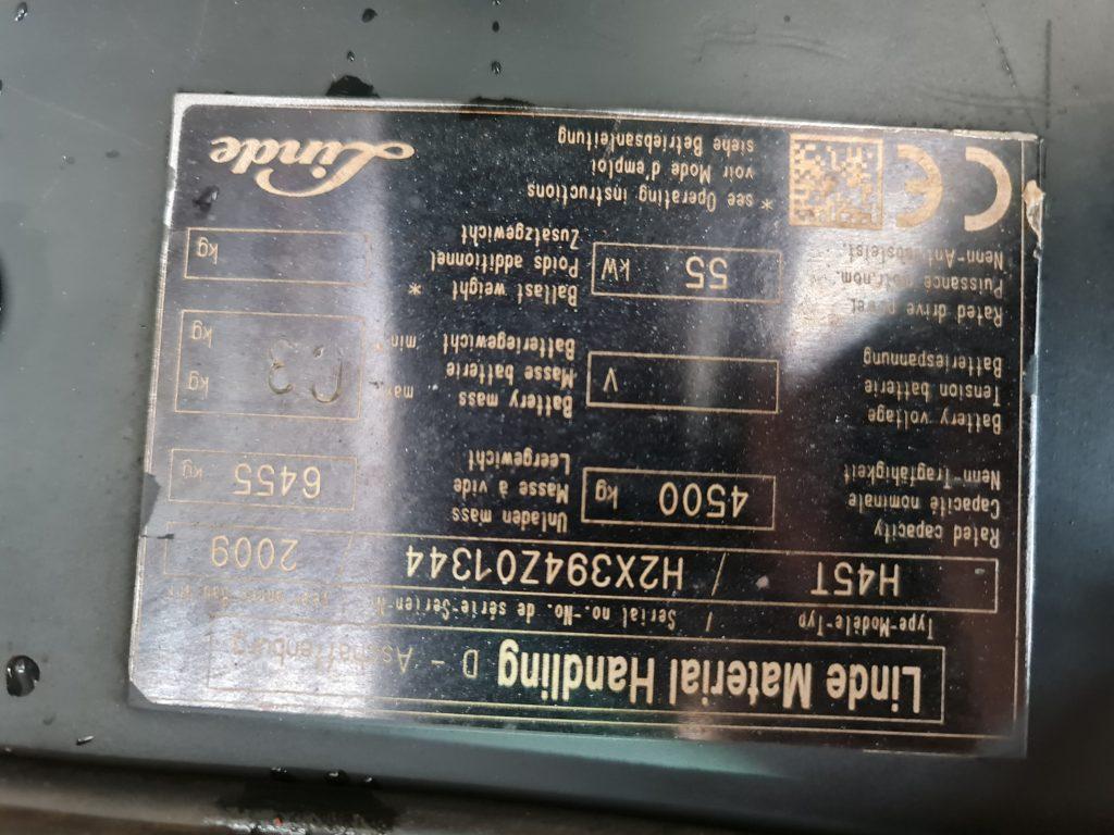LINDE H45T – 316