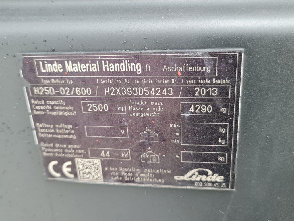 LINDE H25D – 319