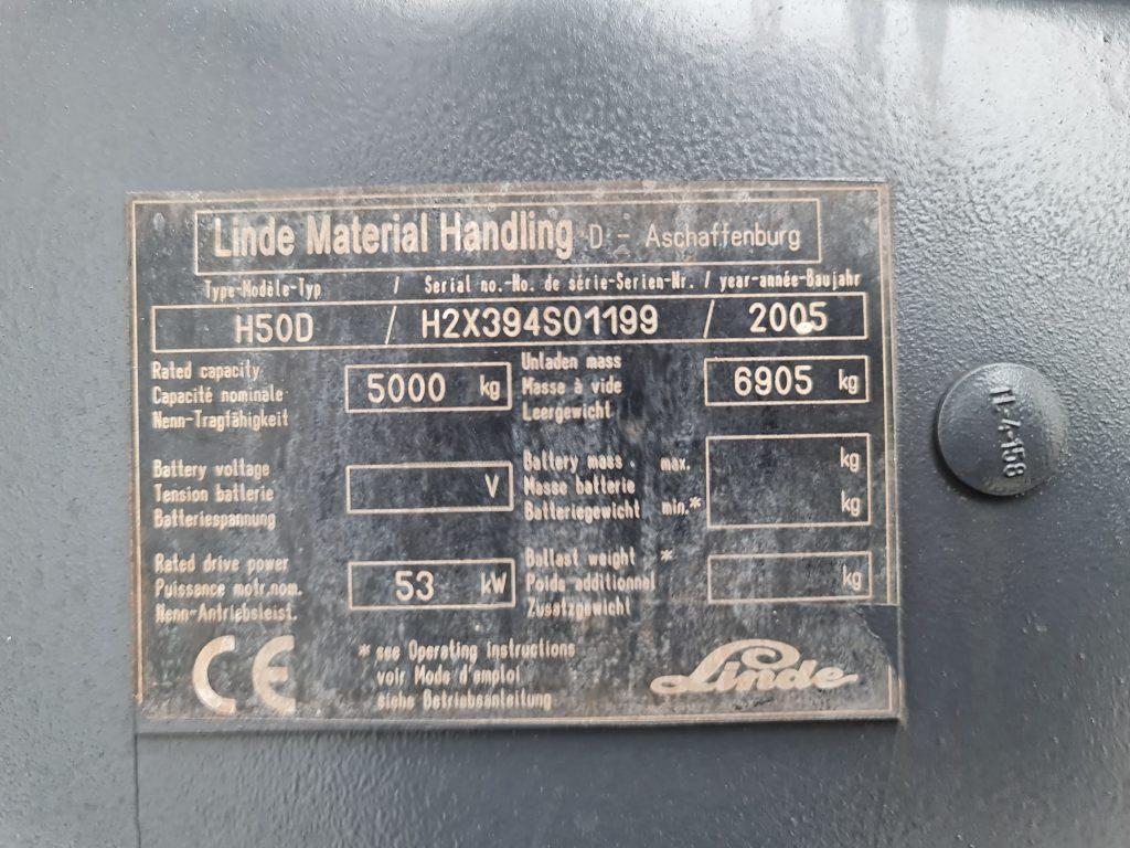 LINDE H50D – 333