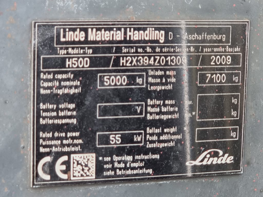 LINDE H50D – 348