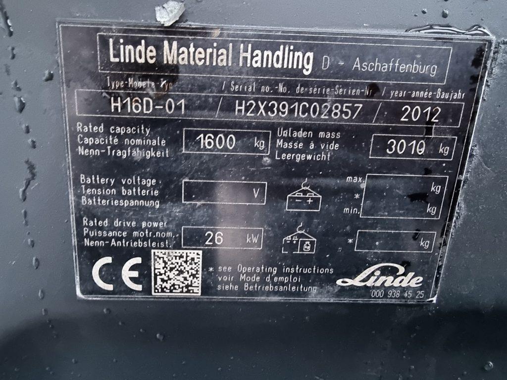 LINDE H16D – 351