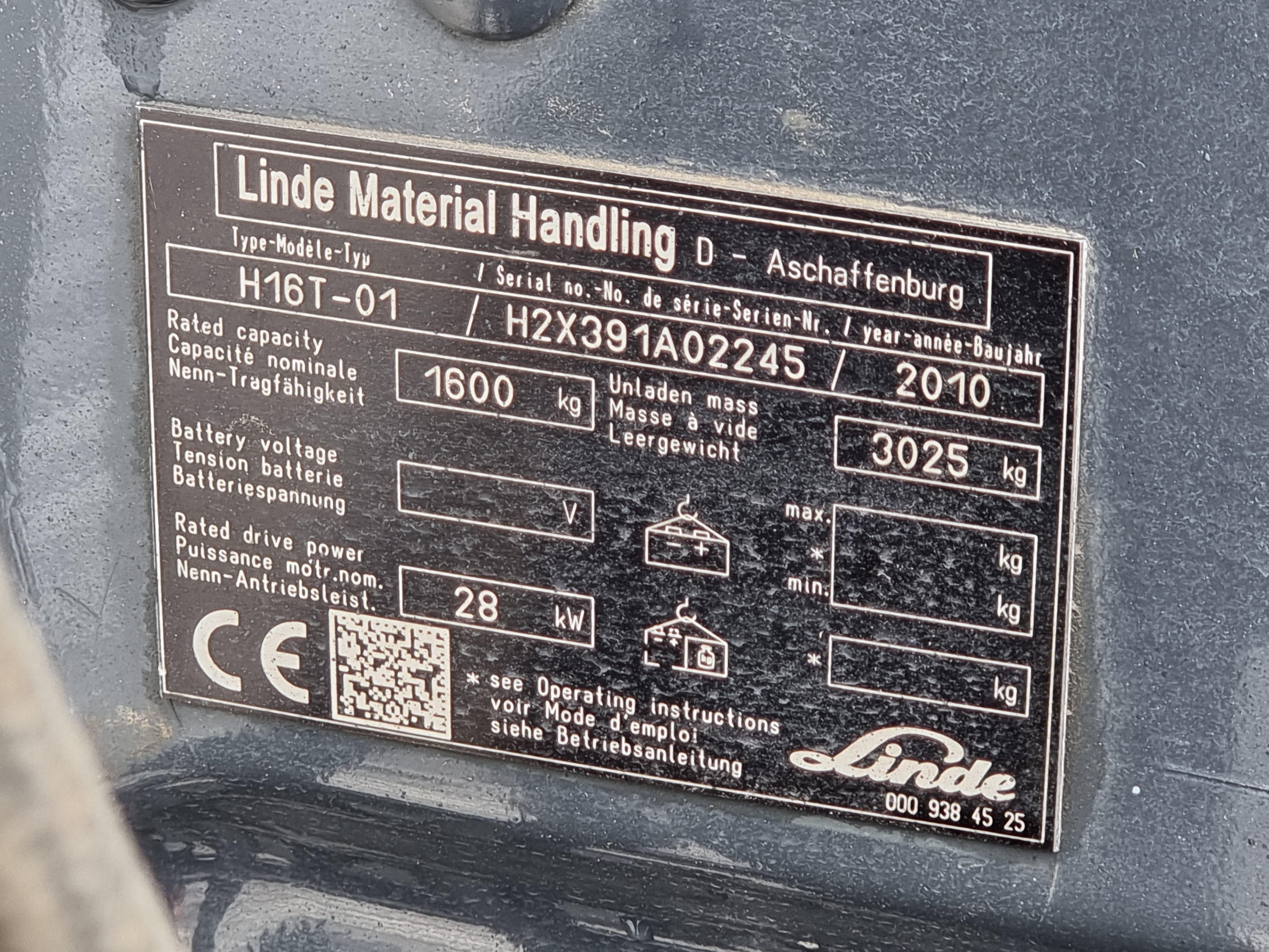 LINDE H16T – 363