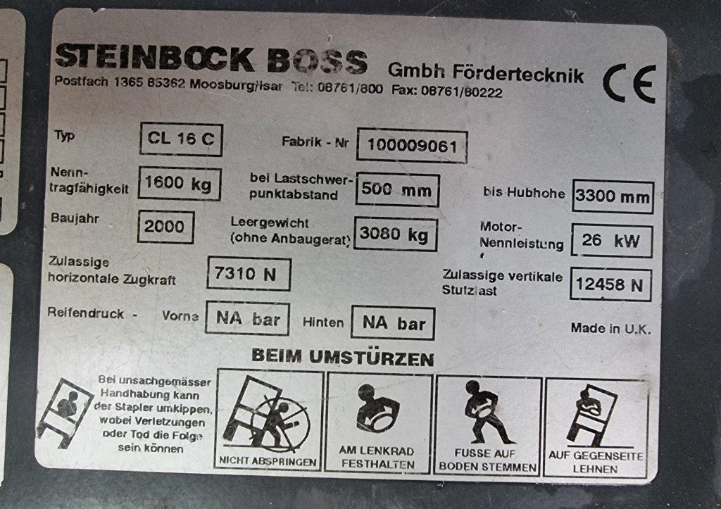 STEINBOCK BOSS CL16 – 373
