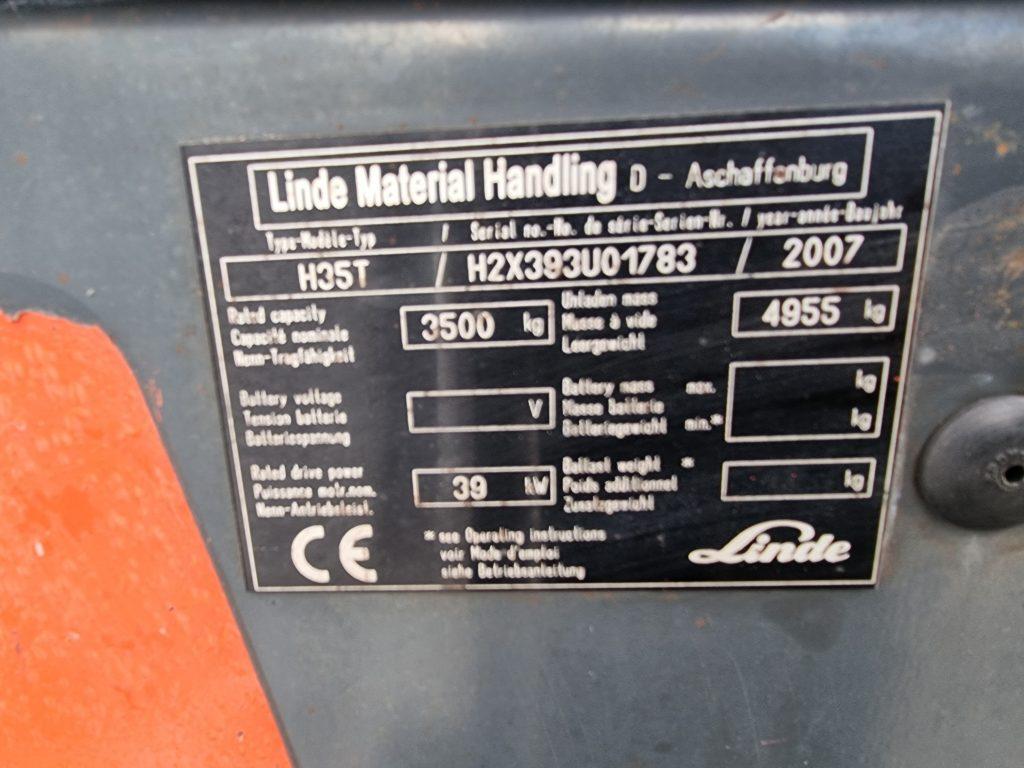 LINDE H35T – 374