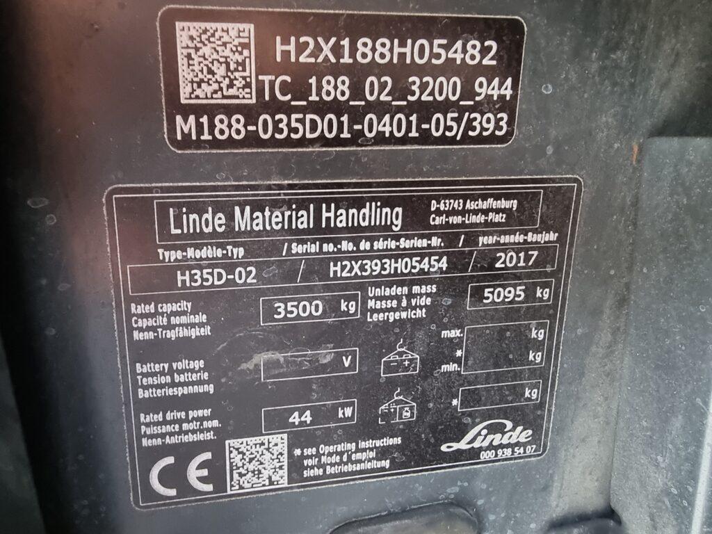 LINDE H35D – 388