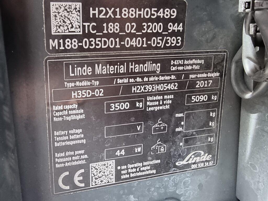 LINDE H35D – 389